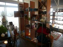 店内ユニセフ製品コーナー