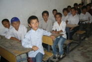 アフガンの教室