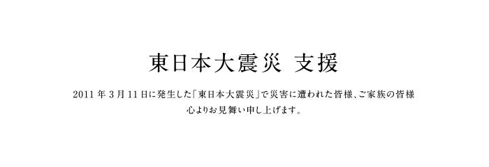 東日本大震災 支援