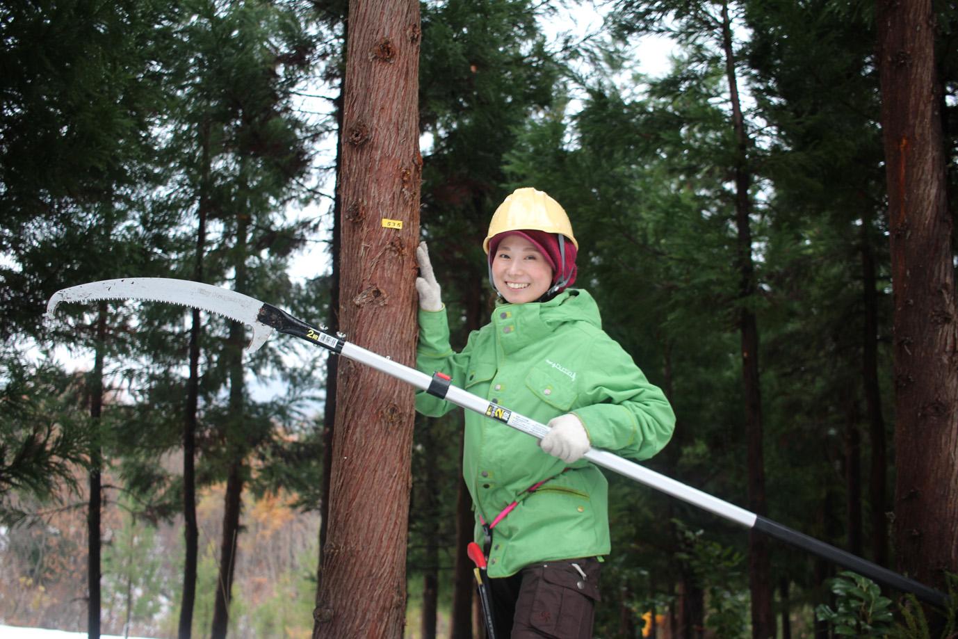 ボー・デコール林業体験