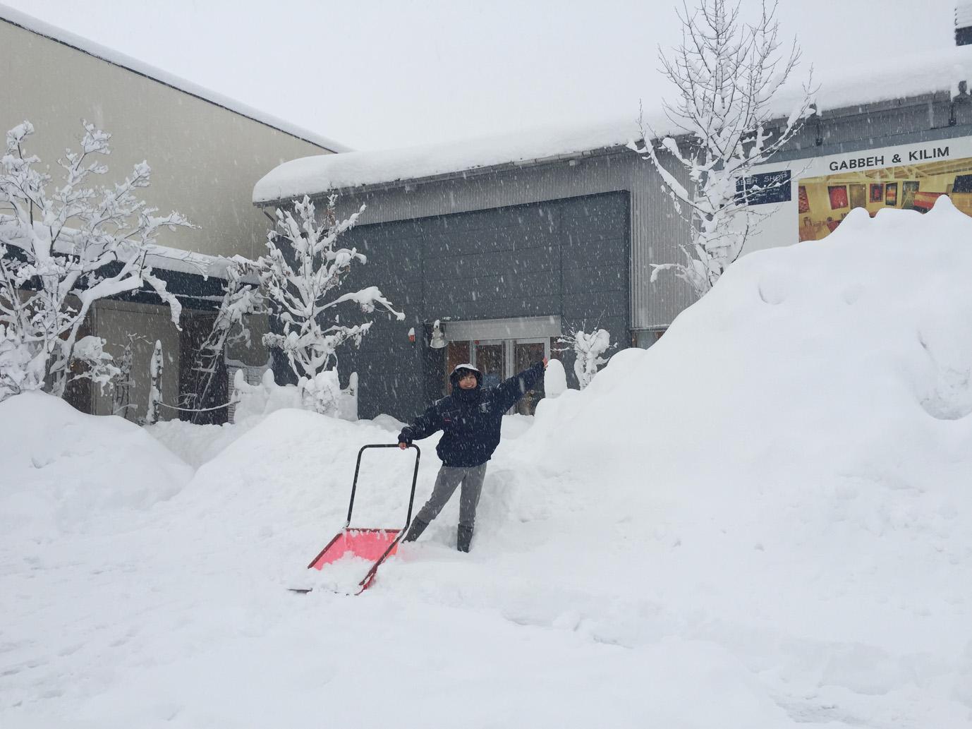 大雪のボー・デコール