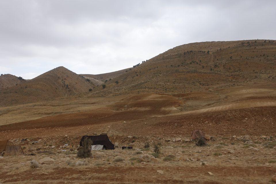 アートギャッベの故郷、ザクロス高原の風景