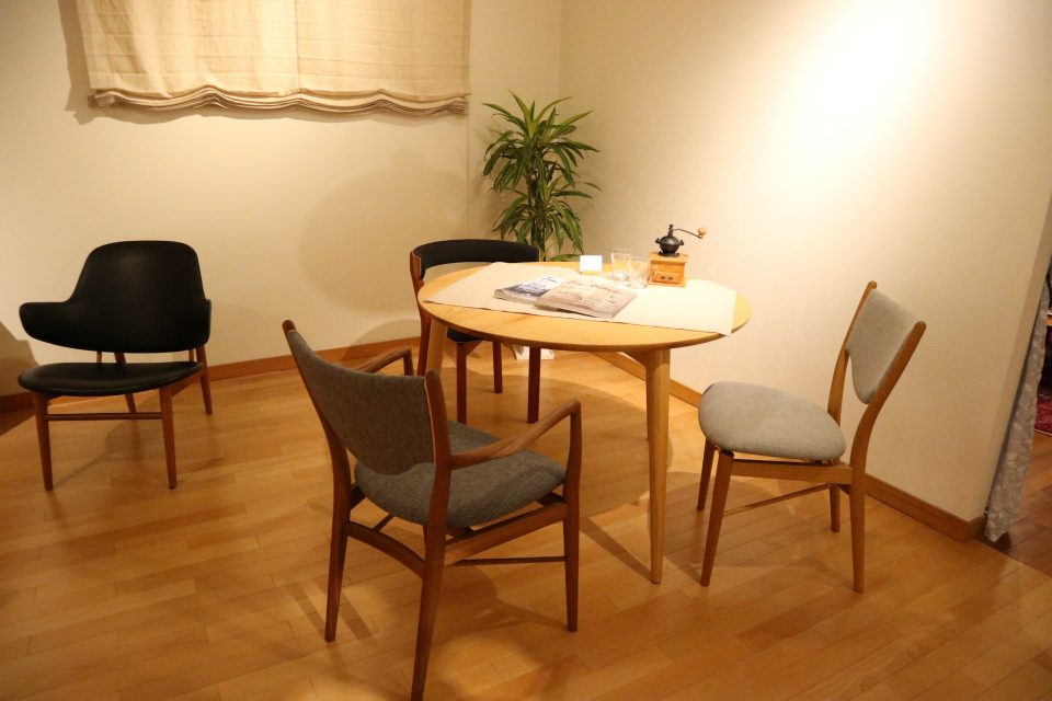北欧の椅子
