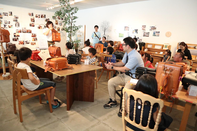 第2回ボーデコールのランドセルメンテナンス教室を開催しました