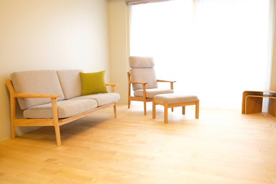 新潟市西区のご新居にナガノインテリアのソファをお届けしました