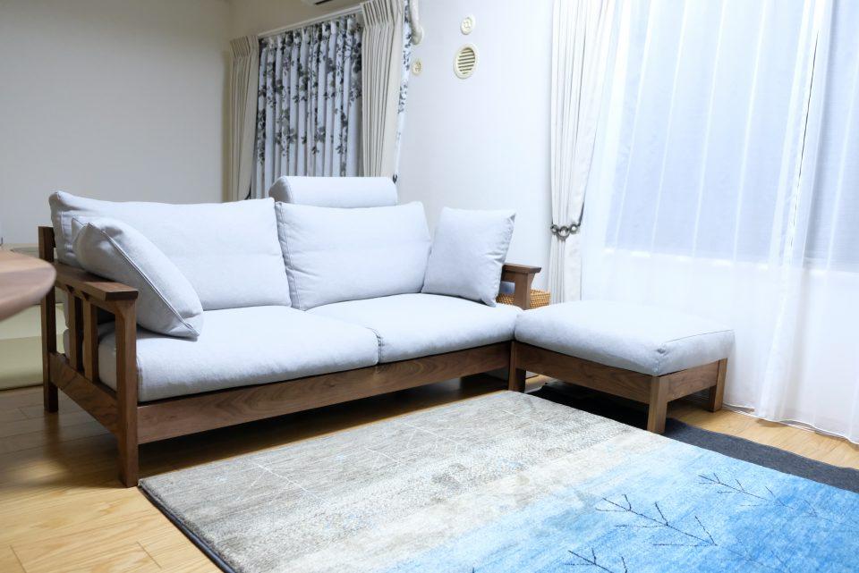 腰に優しいソファ