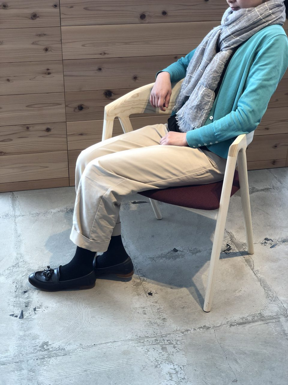 リラックス出来るハープチェアは徳島県で作っています
