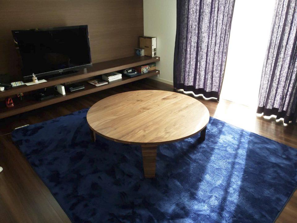 ボーデコールの丸テーブル