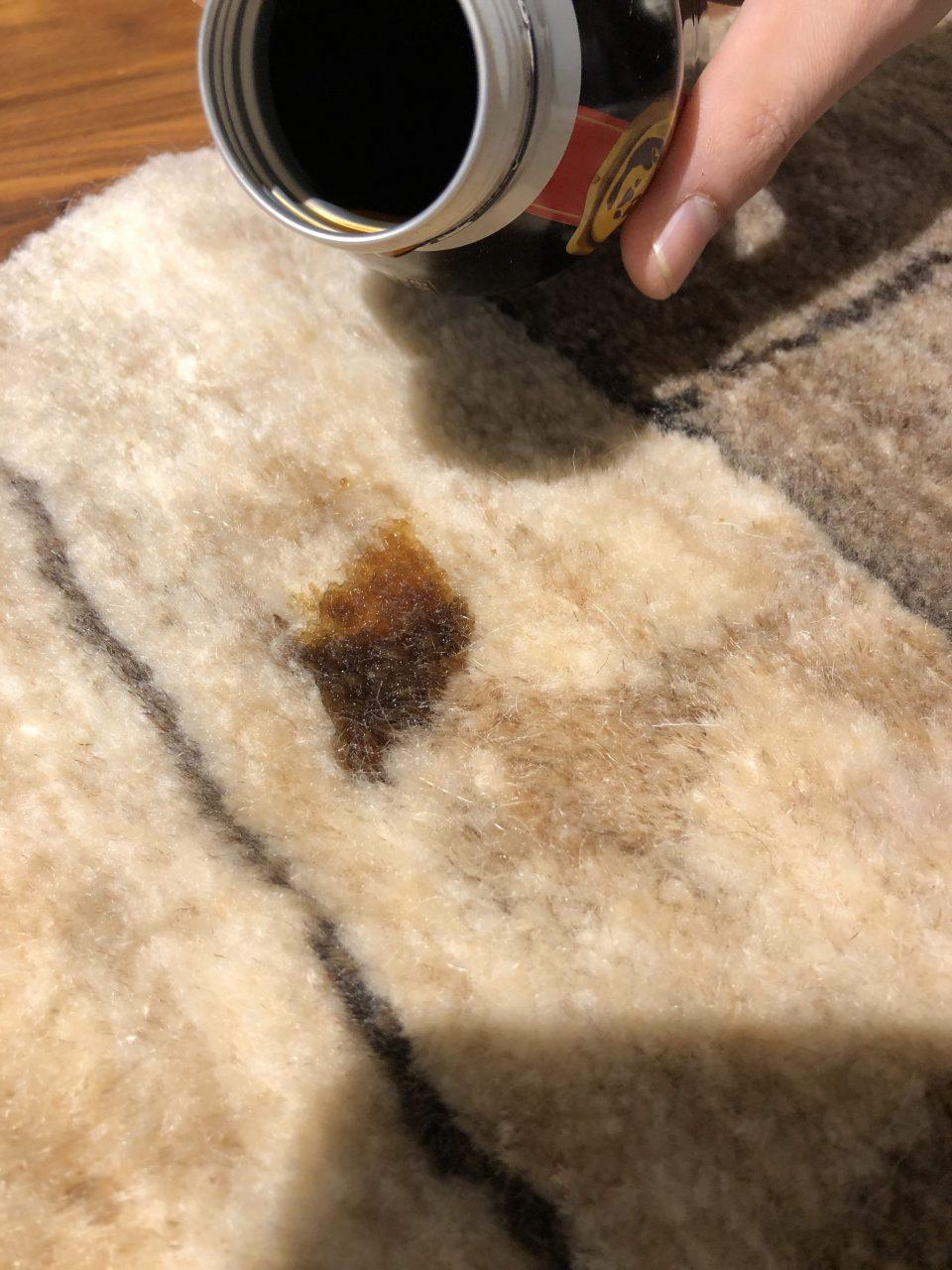 アートギャッベ絨毯のお手入れ方法