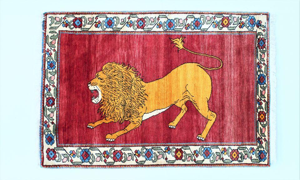 ライオンの文様1