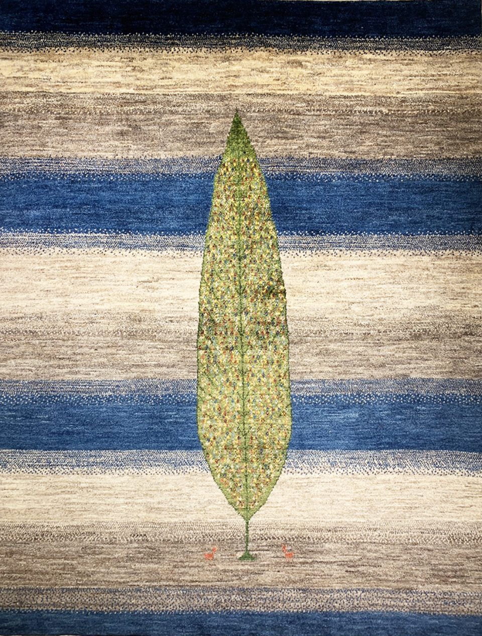 アートギャッベ 糸杉
