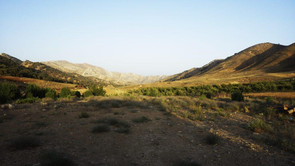 ザクロス山脈の風景