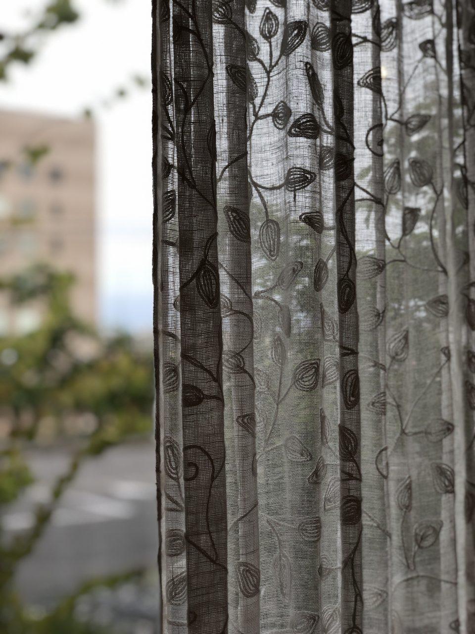 新潟市のインテリアショップボー・デコールのLL4001のリネンカーテンです