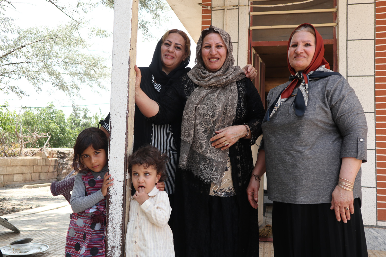イランの人々の笑顔の様子