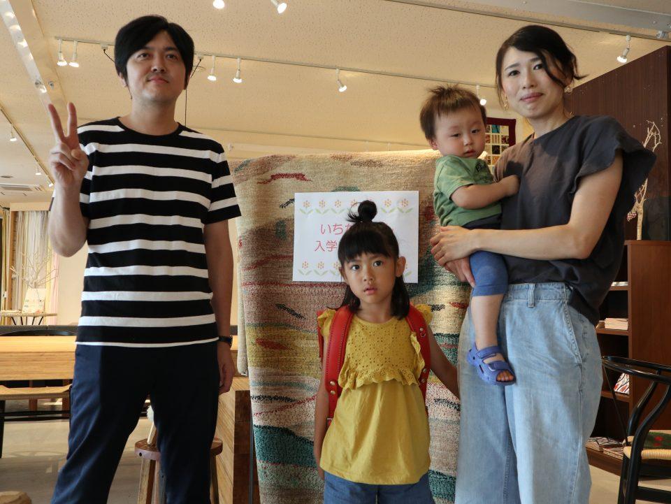 新潟市のボーデコールで行ったランドセル贈呈式は2020年度入学者です