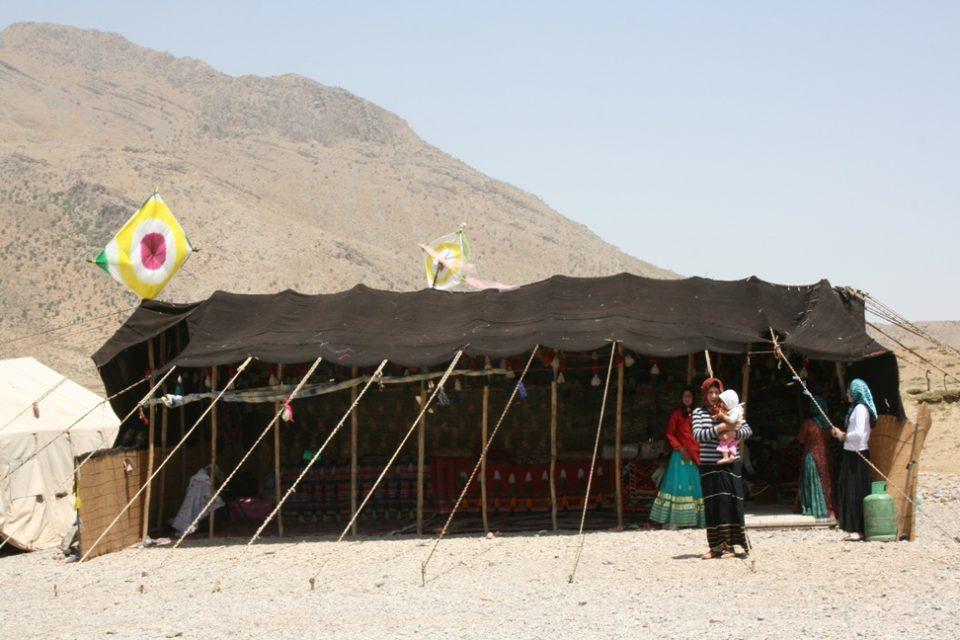 イランの遊牧民のカシュガイ族が作ったギャッベです