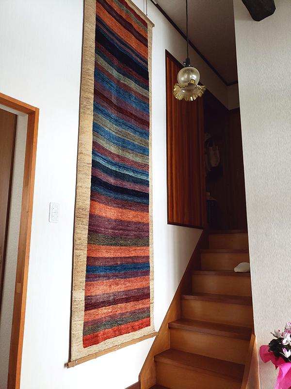 アートギャッベのある風景 ~玄関~10