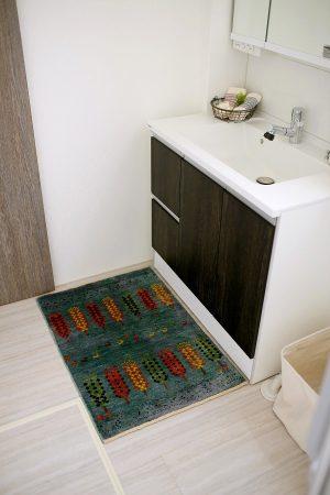 アートギャッベのある風景 ~洗面・キッチン~05