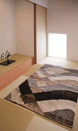 アートギャッベのある風景 ~和室~03