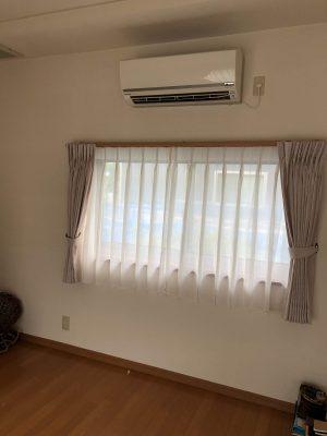 カーテン掛替なら新潟市秋葉区のインテリアショップ、ボー・デコールです