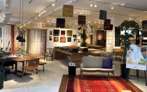 新潟市のインテリアショップ、ボー・デコールでは、アートギャッベ500枚展示中です
