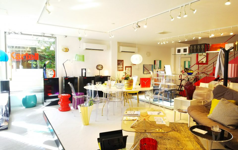 kartell shop内の様子