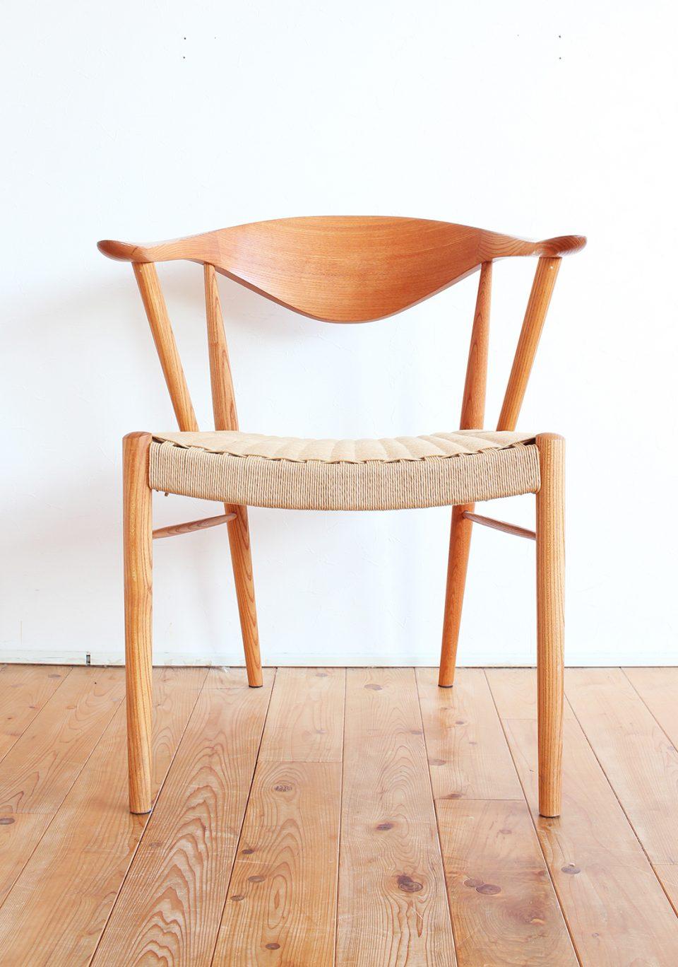 オイルカンナフィニッシュの椅子