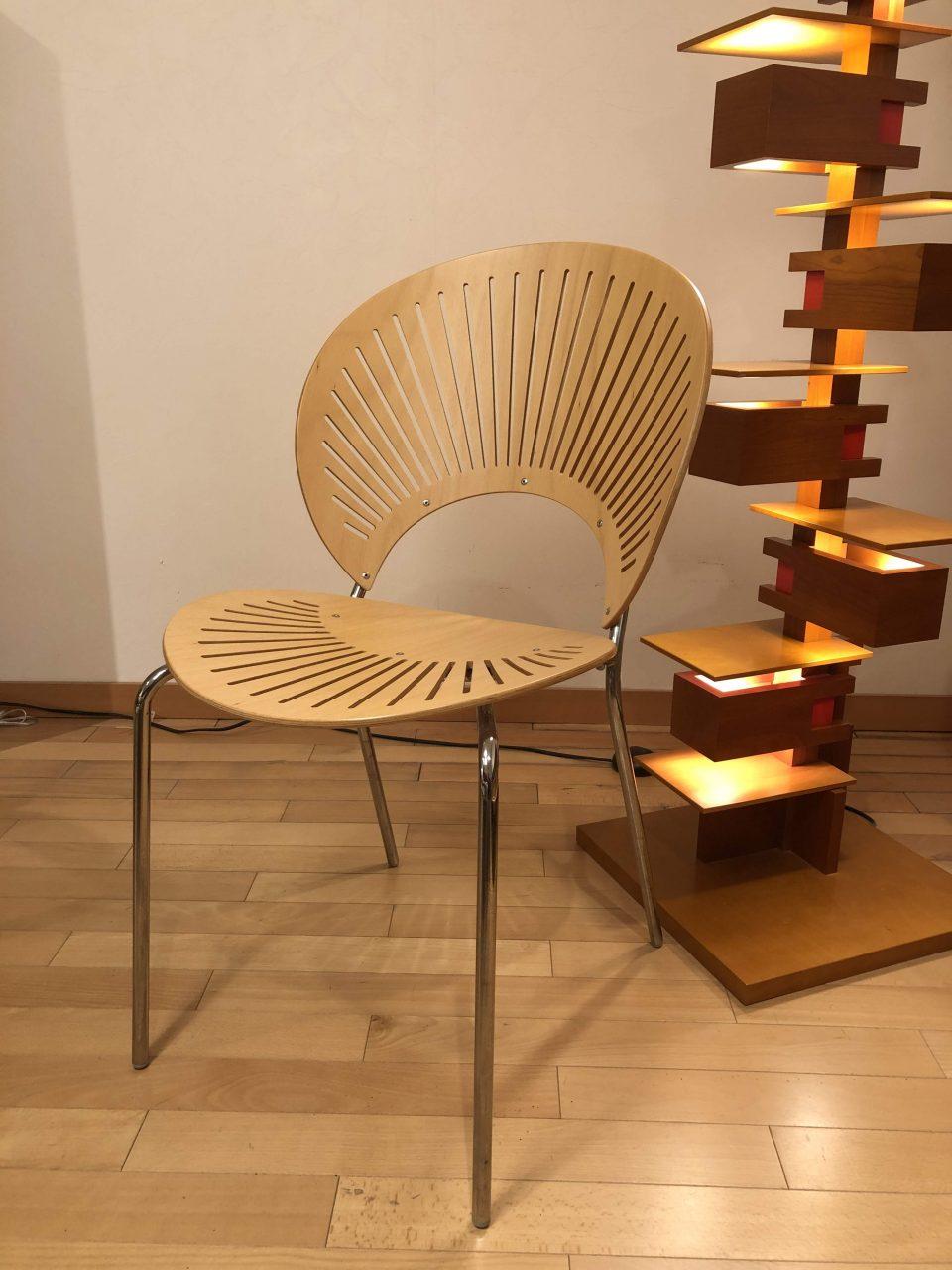 ナンナ・ディッツェルデザインのトリニダードチェアを新潟市の家具店ボー・デコールで展示しております