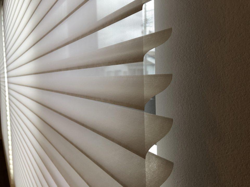 ニチベイのハナリという機能性カーテンを新潟市の新築のお宅へ納品致しました