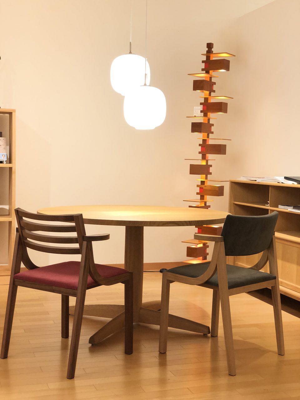 ボー・デコールでは新築住宅にお勧めの椅子や家具を数多く展示しております