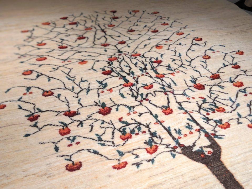 生命の木 アートギャッベ