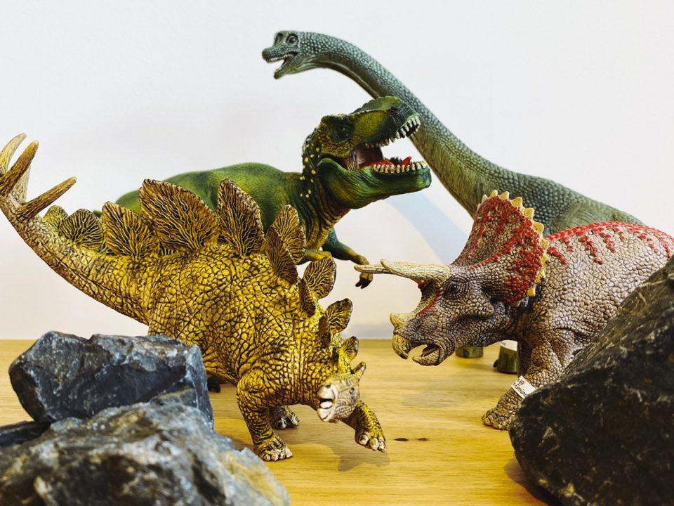 恐竜集合写真