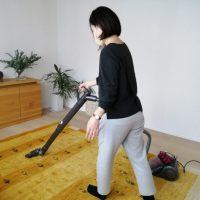 お部屋の空気はじゅうたんの清掃がカギ