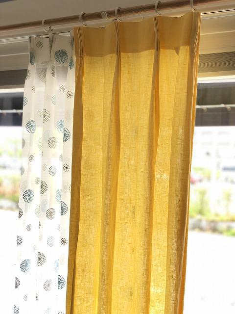 リネンカーテンを新潟市のカーテンショップボー・デコールで扱っております。