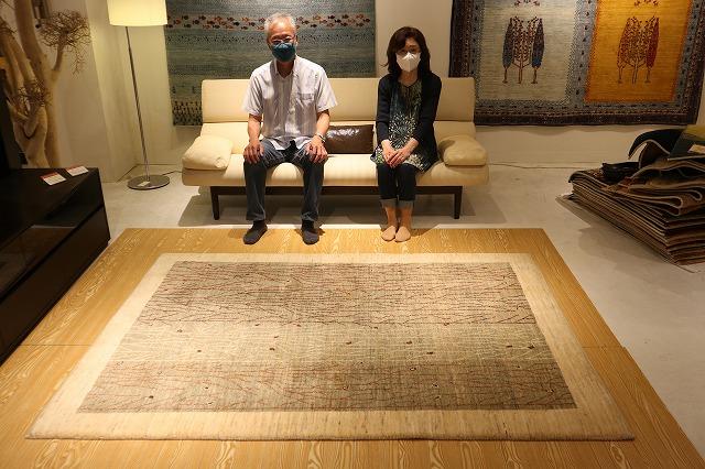 新潟市の家具店ボー・デコールでギャッベ絨毯を扱っております