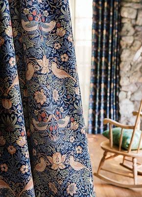 ウィリアムモリスのカーテンコレクション 新潟市インテリアショップボーデコール