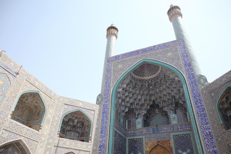 モスクをご紹介している写真です