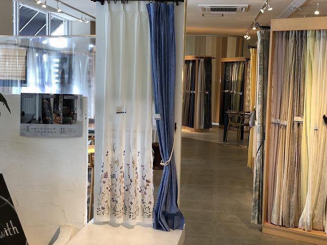 ボー・デコールでは、オリジナルのリネンカーテンを取り扱っております