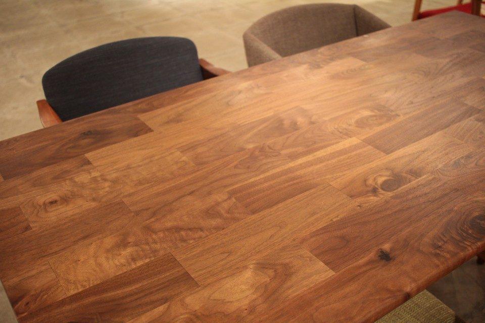 無垢 端材 ウォールナットテーブル