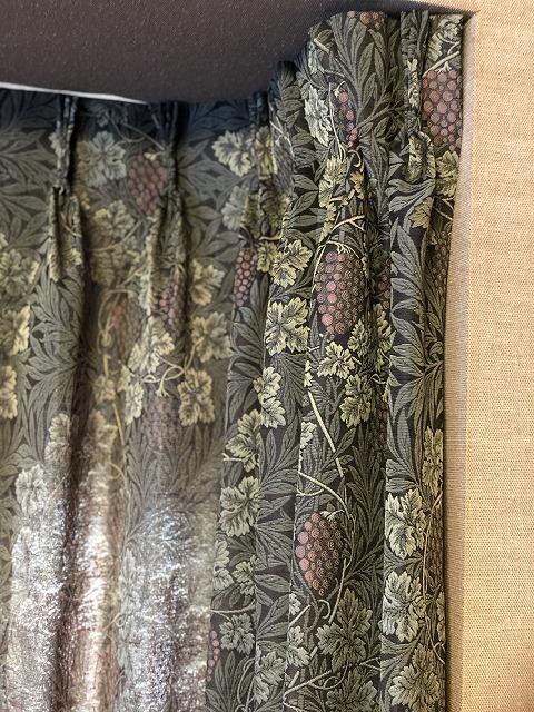 新潟市のボー・デコールではウィリアムモリスのカーテンを扱っています