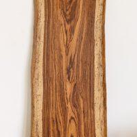 ゼブラウッド材の一枚板