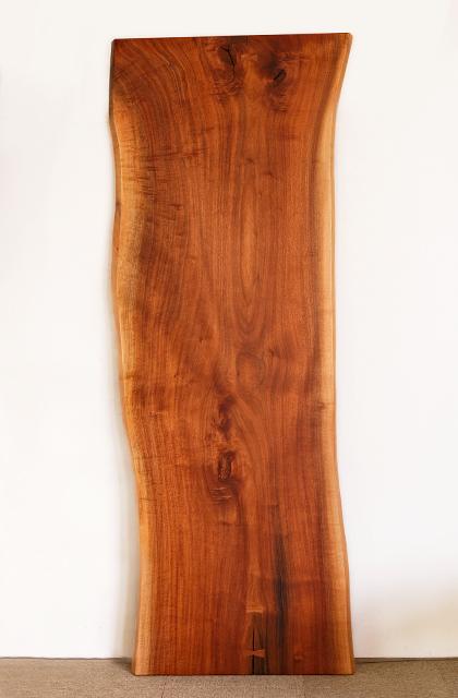 ブラックウォールナット材の一枚板