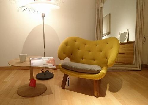 フィンユールのペリカンチェアを新潟市の家具店ボー・デコールで取り扱っております