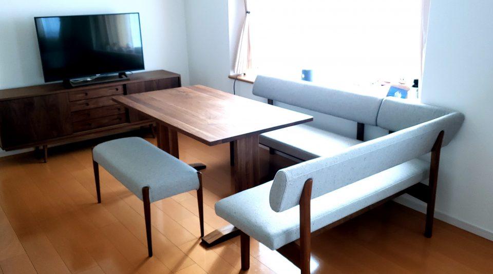 新潟 家具 ダイニング ベンチ テレビボード