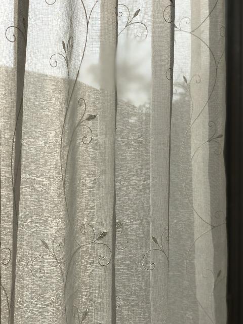 五洋インテックスのレースカーテンを広縁に納品致しました