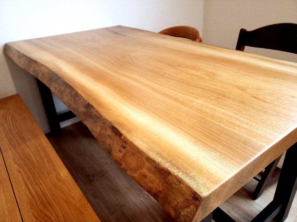 楠 一枚板 テーブル